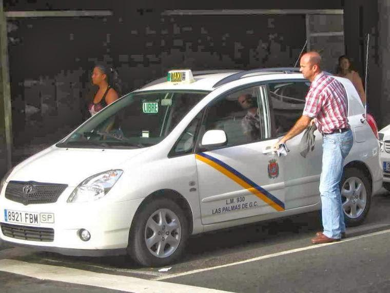 Resultado de imagen de taxi las palmas