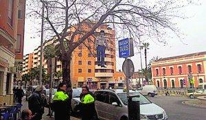 Los taxistas de Xàtiva protestan por la ampliación de licencias