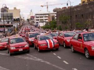 Protesta-Taxis-Costa-Rica