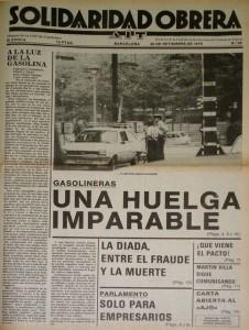 huelga gasolineras 1977