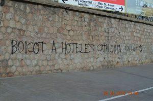 boicot a hoteles catalonia