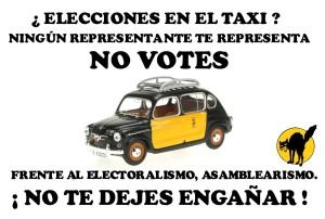 elecciones taxi