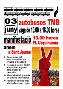 cartel huelga 3 junio